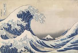 the old man mount fuji and the sea ngv hokusai was one of the most influential artists of the ese edo period 1600 1868 art movement known as ukiyo e or pictures of the floating world