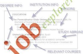Education Section Resume Writing Guide Resume Genius Educational