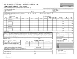travel reimbursement form template it resume cover letter sample travel reimbursement form template