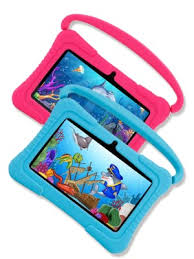 Android Tablets PC, Veidoo <b>7 inch</b> Kids Tablet with 1GB Ram 16GB ...