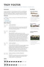 intern architect resume samples   visualcv resume samples databaseintern architect resume samples