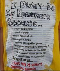 I didnt do my homework because poem   Essay custom uk
