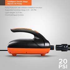 Pagurio 20PSI <b>Smart Electric</b> SUP <b>Pump</b> - - Buy Online in Faroe ...