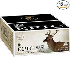 EPIC <b>Venison Sea Salt</b> & <b>Pepper</b> Bars 12 count: Amazon.com ...