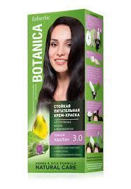 Стойкая питательная <b>крем</b>-<b>краска для волос</b> Botanica 8770 ...