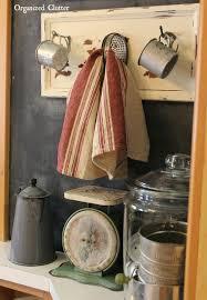 Vintage Farmhouse Kitchen Decor Organized Clutter Free Drawer Front Farmhouse Kitchen Decor