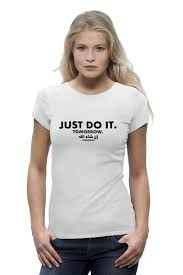 <b>Футболка Wearcraft Premium</b> Just do it! Tomorrow! Inshallah ...
