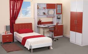 bedroom design red contemporary wood: country modern style teen room decorating