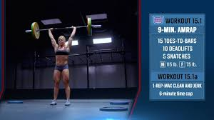Image result for 15.1 workout