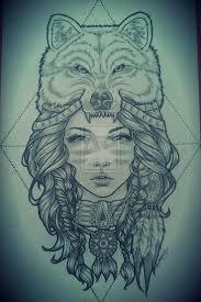 <b>wolf headdress</b>   Tattoos   Pinterest   <b>Headdress</b> tattoo, <b>Wolf</b> tattoos ...
