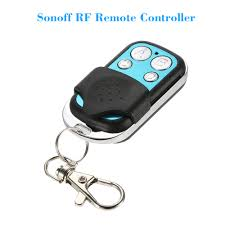 <b>SONOFF Wireless WiFi 4 Buttons</b> Push Cover 433MHz RF Remote ...