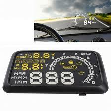 <b>W02 5.5 inch</b> Car OBDII HUD Fuel Consumption Warning System ...