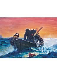 """<b>Пазл</b> 1000 деталей """"Рыбак с сетью"""" ART PUZZLE 9055237 в ..."""