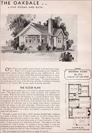 Sears Kit Homes   Oakdale   Modern Bungalow   Small House Plan Sears Kit House   Oakdale