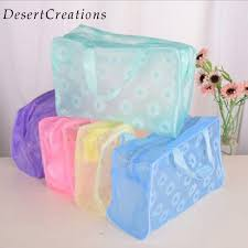 Fashion <b>Waterproof PVC Makeup</b> Cosmetics Bag Clear Transparent ...