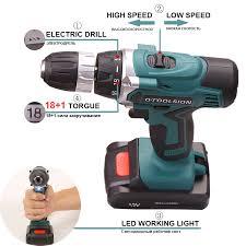 <b>12V</b> Plus Electric Tools Screwdrivers With 2 Batteries 1.5Ah Driver ...