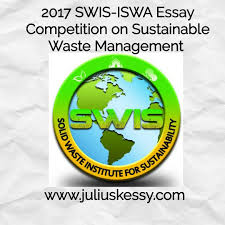 swis iswa competition on sustainable waste management essay