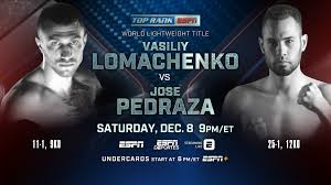 Top Rank on ESPN to Feature Vasiliy Lomachenko vs Jose Pedraza ...