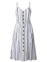 ECHOINE <b>Women's Summer Dresses</b>, <b>Floral</b> Boho Spaghetti Strap ...