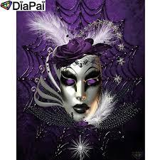<b>DIAPAI 100</b>% <b>Full</b> Square/Round Drill 5D DIY Diamond Painting ...