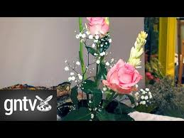 How to Ikebana - GN Guides - YouTube