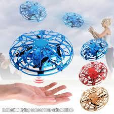 Mini Drone Quad <b>Induction</b> Levitation UFO <b>USB Charging LED Light</b> ...