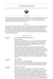 assembler resume samples   visualcv resume samples databaseline supervisor electronic assembler resume samples