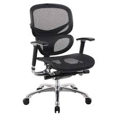 petite office chairs space boss black ergonomic mesh office chair boss workspace home office