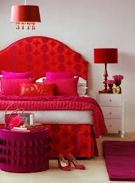 red bedroom walls decor