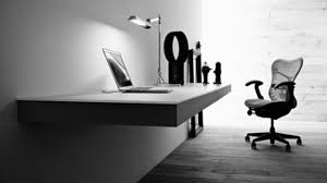 elegant black and white tone wall desk furniture inspiring simple nicole miller home decor black and white office