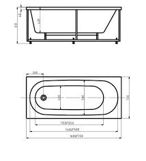 Купить <b>акриловую ванну Акватек Оберон</b> 160 х 70 в Москве в ...