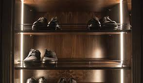 lighting for closets. vertical led strip lighting for illuminating areas along edges of closet or pantry system closets t