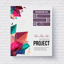 presentation brochure template title page a stylish geometric presentation brochure template title page a stylish geometric pattern of triangular points a date