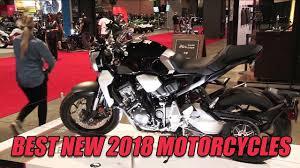 Looking Ahead: <b>Best New</b> 2018 <b>Motorcycles</b> - YouTube
