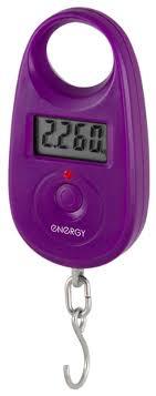 Купить Электронный <b>безмен Energy BEZ</b>-<b>150</b>, фиолетовый по ...