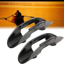 2pcs <b>Kayak Marine Boat</b> Paddle <b>Clip</b> Holder Watercraft Plastic ...