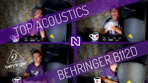ОБЗОР <b>BEHRINGER B112D</b> - YouTube