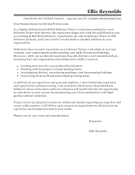 software testing cover letter examples   it cover letter samples    edit