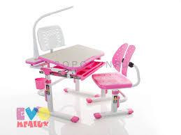 <b>Комплект мебели Mealux</b> EVO-05 PN (<b>столик</b> + стульчик+лампа ...