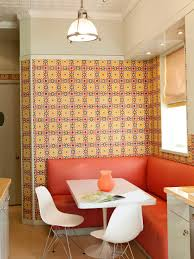 Kitchen Banquette Furniture Dining In Comfort With Kitchen Banquettes