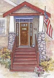 craftsman style door and architecture american craftsman style