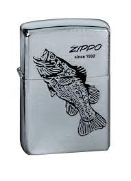 <b>Зажигалка Zippo</b>. 200 <b>Black Bass</b> — купить в интернет-магазине ...