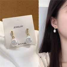 <b>YANGLIUJIA</b> Korea temperament elegant irregular small <b>pearl</b> ...