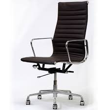 comfortable chair for office. Comfortable Office Chair Elegant Stylish Black Swivel With Brown For