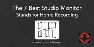 7 лучших стоек для студийных мониторов для домашних студий