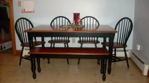 iron kitchen table photo better homes and gardens autumn lane farmhouse dining table black and
