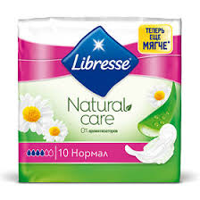 <b>Libresse</b> Natural Care Ultra <b>Normal прокладки</b>, 10 шт. - купить ...