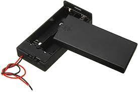 BouBou <b>3Pcs Plastic Battery</b> Holder <b>Storage</b> Box Case: Amazon.co ...