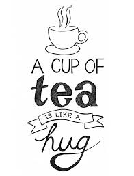 Image result for cup of tea drawing