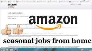 amazon seasonal jobs from home amazon seasonal jobs from home